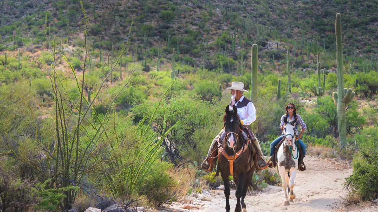 Arizona locals at Tanque Verde Ranch in Tucson