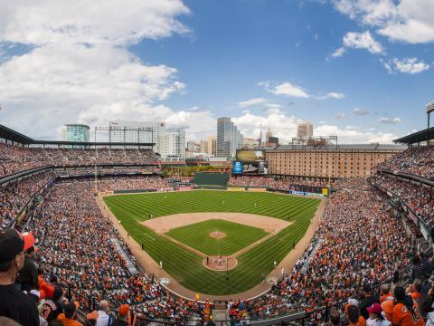 When the Baltimore Orioles resume baseball play in May at Camden Yards, it's the unofficial first day of summer in the city