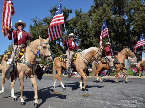 The Pioneer Day Parade in Paso Robles, California